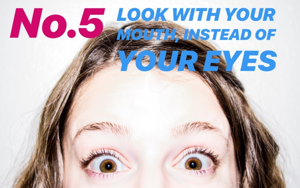 5 Look with your Eyes_blog
